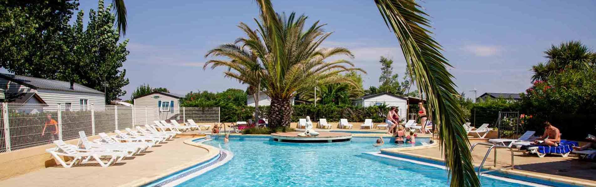 Camping piscine Hérault